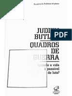 Judith Butler, Quadros de Guerra - Intro