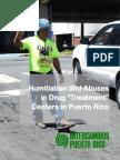 Humiliation & Abuse in Drug Treatment in Puerto Rico - Intercambios PR - 2015