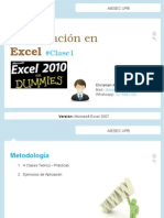 Clase Excel AIESEC