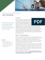Hyper-V Cloud Jumpstart Datasheet