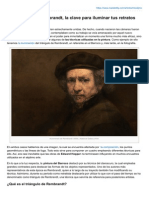 El Triángulo de Rembrandt