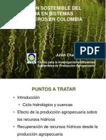 Gestión Sostenible Del Agua en Sistemas Ganaderos en Colombia
