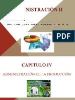 Administración II Sumario 4 Administración de La Producción