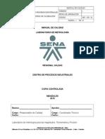 Manual de Calidad Laboratorio