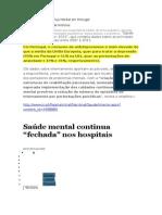Doença Mental Em Portugal