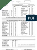 Formato Check List Macom