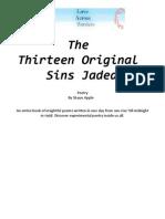 The Thirteen Original Sins Jaded - 2007