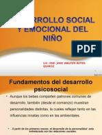 Desarrollo Emocional y Social Del Niño
