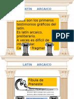 Latin arcaico