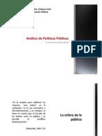 Análisis de Políticas Públicas 2015 (primera parte)