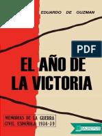 El Ano de La Victoria - Eduardo de Guzman