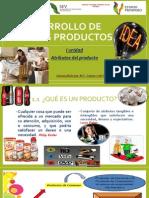 1 Unidad Desarrollo de Nuevos Productos