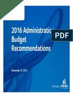 Regina proposing a 3.9 per cent tax hike for 2016 budget