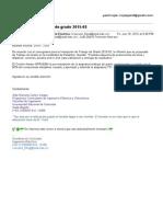 Pre-Inscripción Trabajo de Grado 2015-03