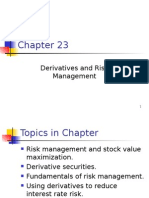 Ch23 Derivatives and Risk Management