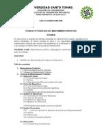 Trabajo de Tecnicas de Mantenimiento- RUBIANO