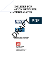 A06 Guidelines for Evaluation of Water Control Gates Draft Version FEMA