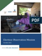 Report Zanzibar 2015