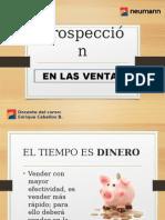Prospección en Las Ventas - 2015