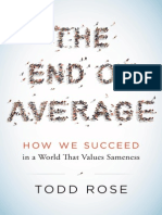 The End of Average: How We Succeed in a World That Values Sameness by Todd Rose (Excerpt)