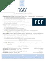hannahgoble resume