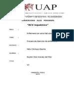 Pae Acv Isquemico