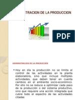 Administracion de La Produccion I