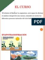 Hidro Clase de Evaporacion
