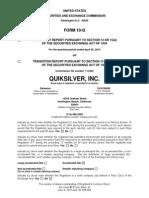 ZQK_Q2_2010_Form_10-Q