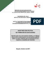 (2007) Documento de Pol-tica Formacio³n MEN[1]. pdf.pdf
