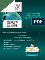 Materi Statistik Bab 1