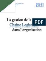 MSO Rapport Gestion de La Chaine Logistique Modifier