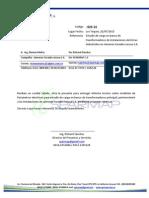 Informe Estudio de Carga en fabrica de embutidos Venezuela
