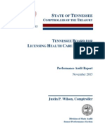 Tennessee Board for Licensing Health Care Facilities