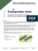 Coils Transponder