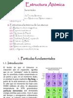 Tema1 Estructura Atómica