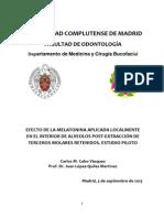 Aplicación de Melatonina Local en Extracción de Cordales.doc