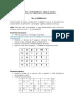 Plan de Recuperación Kínder Cuarto Periodo 2015