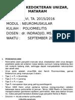 kuliah poliomielitis(2015)