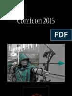 Comicon 2015 Buenos Aires