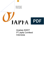 SWOT Japfa