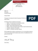 isu reuse program proposal