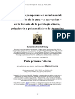 Salomon Chichilnisky Historia Psicologia Psiq PARTE 1