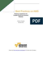 Wordpress Best Practices on Aws