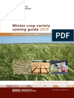Winter Crop Variety Sowing Guide 2015