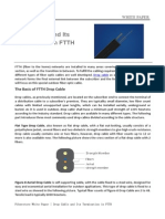 Fiberstore-White Paper-Drop Cable and Its Termination in FTTH