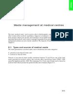 Waste Management at Medical Centres