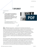 Cold War, Soft Diplomacy • Inside Story