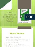 CMT Cuestionario de Motivacion en El Trabajo