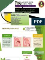 Síndrome esofágico, pirosis, regurgitación, constipación, enfermedades funcionales, doligomegacolon , agangliosis (1).pptx